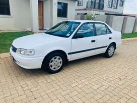 2000 Toyota Corolla 1.3 GLE in great condition for sale