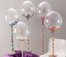 Прозрачные шары Баблс Bubbles 45 см