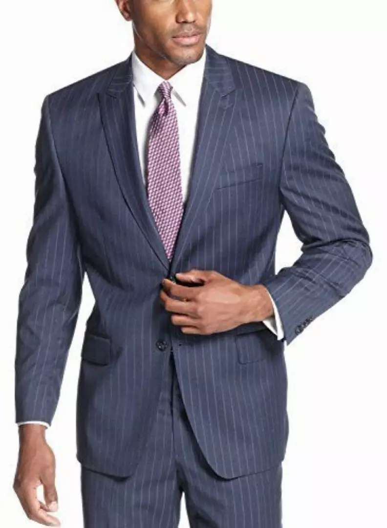 Stripped formal business official suits for men 0