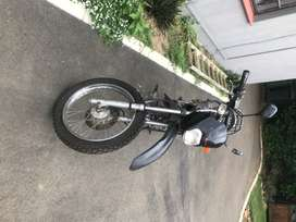 Honda XR 125 frame and parts for sale