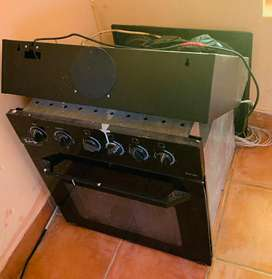 Built in stove