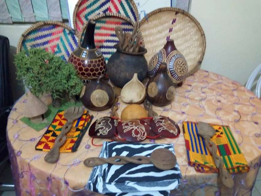 African decor accessories for hire... 0