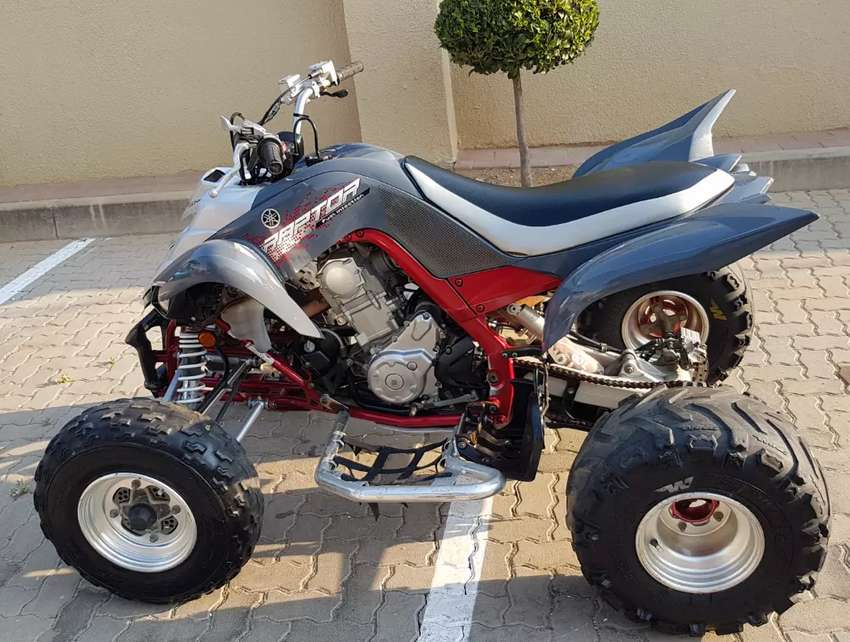 Quad bike- Yamaha Raptor 700 - neg 0