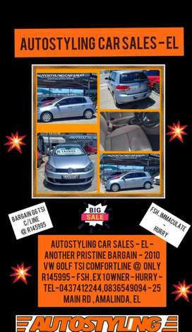 Autostyling Car Sales - East London - Best Buy Bargain - Golf 6 TSi CL