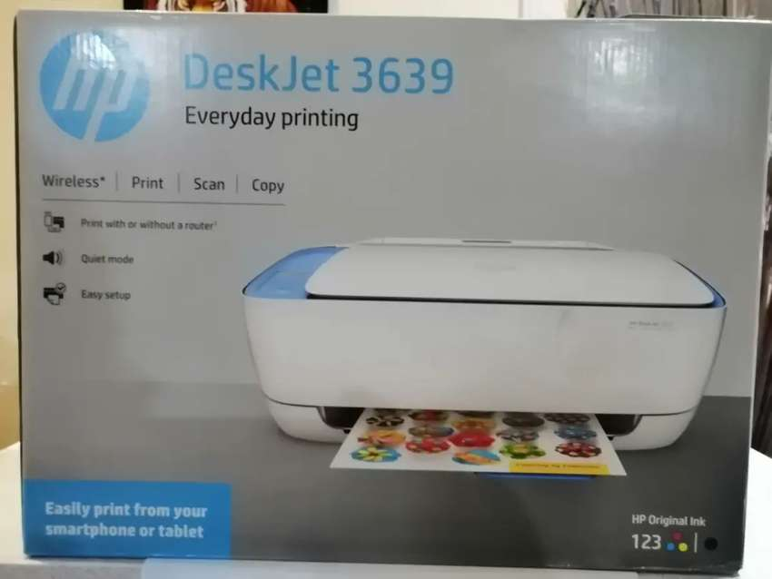 HP Deskjet all in printer 0