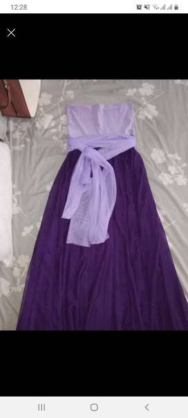 Purple and Lavender Infinity dress