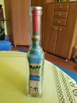 Buteleczka z kolorowym piaskiem z Tunezji