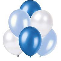Balony niebieskie Metalizowane
