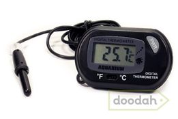 Термометр для аквариума + батарейки! Градусник, датчик температуры.