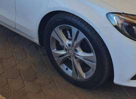 """17"""" runflat tyres and rims"""