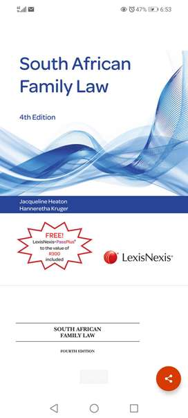 South African Family Law 4th Edition Lexis Nexis