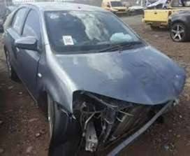 Toyota etios stripping for parts
