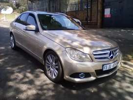 2013 MERCEDES BENZ C200, AUTOMATIC, SUN ROOF, SPARE KEY