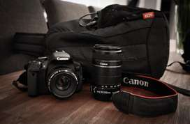 Canon 650d 2 lenses package plus extras ( one owner )