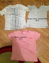 Sportowe koszulki, T-shirty na siłownię