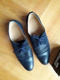 Buty skórzane chłopięce eleganckie, do komunii, rozm 38