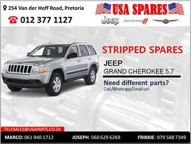 JEEP GRAND CHEROKEE 5.7 STRIPPED SPARES FOR SALE