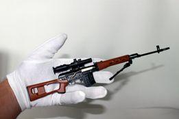 Модель снайперской винтовки СВД