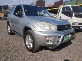 2003 Toyota Rav4 2.0 Manual (built in4x4)