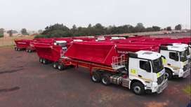 34ton Side Tipper Contract