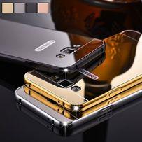 Премиум чехол накладка мет+зеркало Samsung S3 S4 S5 S6 S7 Edge S8 Plus