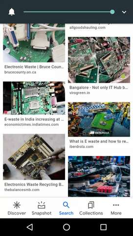 Despose of all unwanted E- waste
