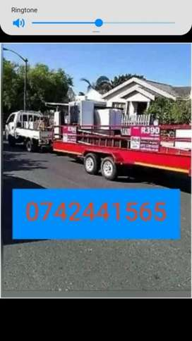 Bakkie and truck for HIRE Transport services