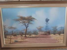 Andre Vorster painting