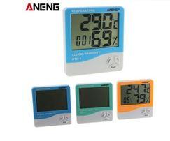 Термометр/гигрометр/будильник/календарь. Метеостанция .ЖК-экран.термо