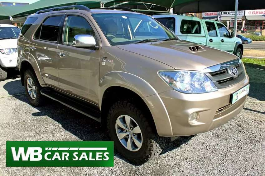2008 Toyota Fortuner 3.0 4x4 manual 0