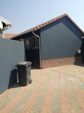 A fully furnished 3 bedroom house in cosmo city ext 10
