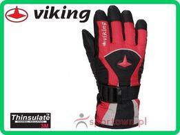 Rękawiczki narciarskie zimowe Viking Conan rozmiar 3/4 dziecięce