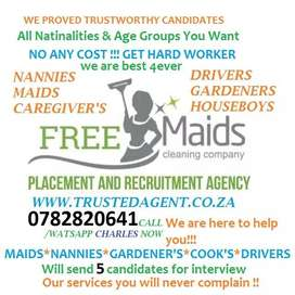 GET HARD WORKER NANNIES and MAIDS