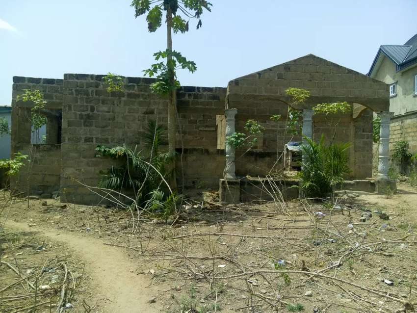 4 bedroom uncompleted house for sale at Kasoa 0