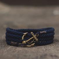Мужской браслет ручной работы в морском стиле от бренда MARITIME