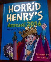Horrid Henry - Детская книга на английском языке (пазлы, шутки, игры)