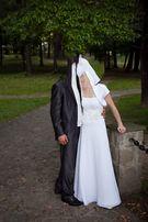 Suknia ślubna rozmiar 36 z bolerkiem