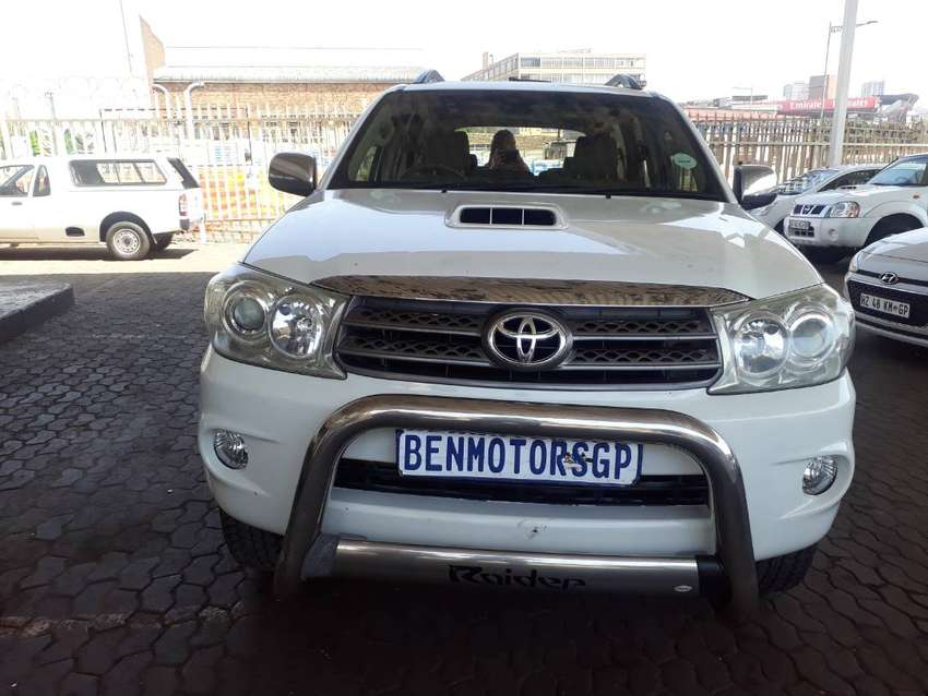 Sale:2010 Toyota Fortuner,Engine3.0D4D,Manual,130000km Service Boo 0