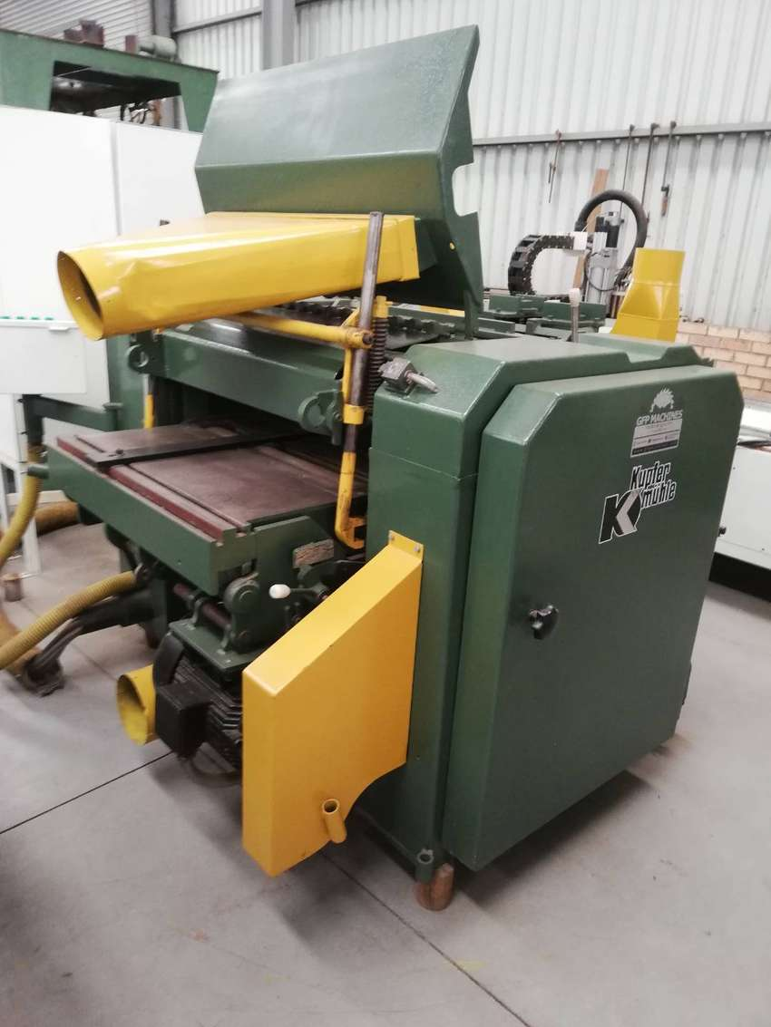 Four Sided Planer Including Feed Tables 0