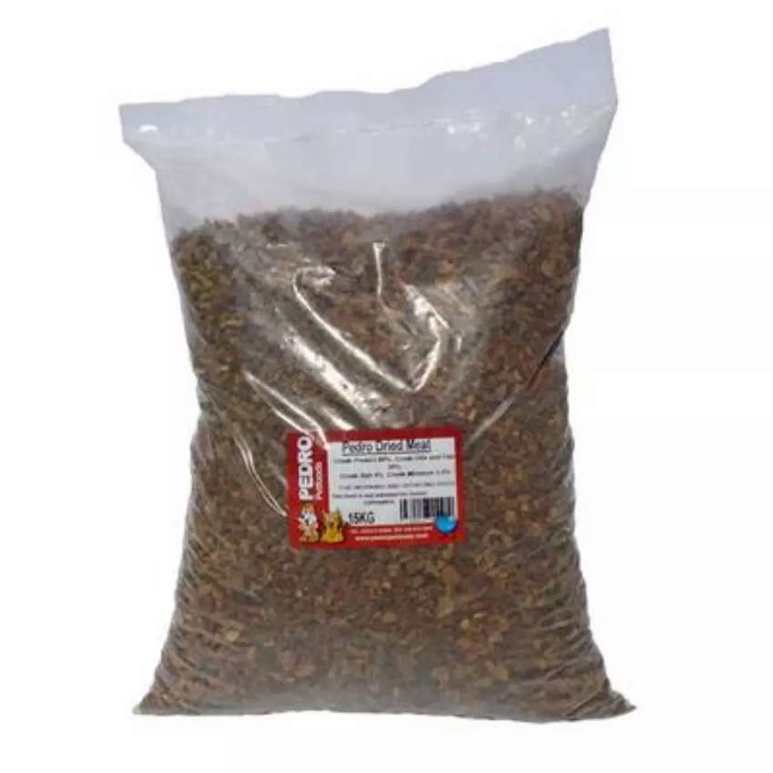 Dried Meat and Pellets for dogs 0