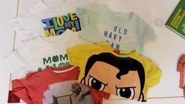 Комплект из пяти футболок на 3-5 лет