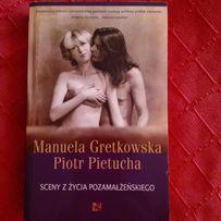 """Sprzedam """"Sceny z życia pozamałżeńskiego"""" M. Gretkowska, P. Pietucha"""