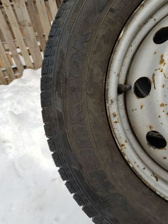 Koła felgi opony zimowe 205/70/15C HANKOOK RW06 jumper ducato 02-06 Końskie - image 5