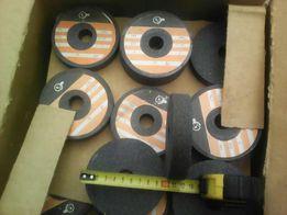 круги шлифовальные серые 100\20\20. 150\65\63белые. 600\300\100 серый.