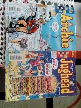 Archie and Jughead comic's