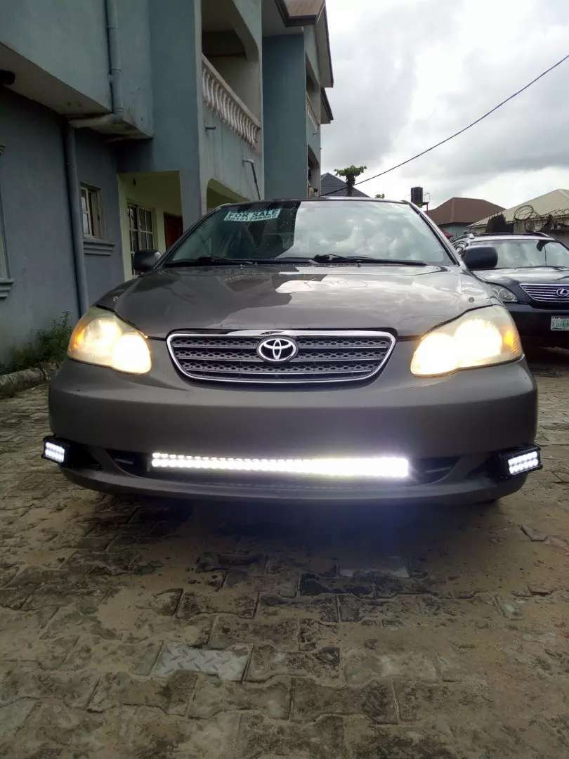 Clean toks Toyota corolla 2007 model up for grabs 0