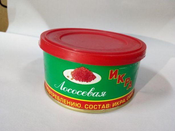 Зернистая красная икра Нивагропродукт 140 г. Южно-Сахалинск. Опт/розн.