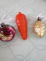 Новогодние ёлочные игрушки СССР