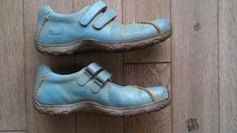 Niebieskie Martensy półbuty czółenka balerinki Dr Martens 38