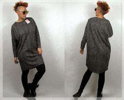 Wyjątkowa włoska tunika/sukienka kolekcja jesień zima M/L Polecam!